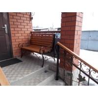 кованые скамейки С001
