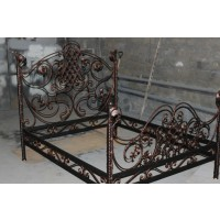 кованные кровати К001