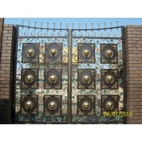 Ворота кованые В001