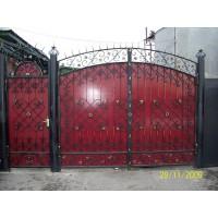 ворота кованые В004
