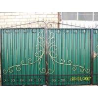 ворота кованые В005