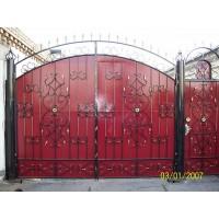 ворота кованые В006