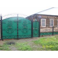 ворота кованые В007