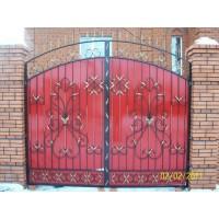 ворота кованые В008