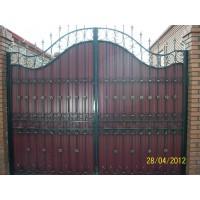 ворота кованые В011