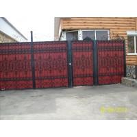 ворота кованые В014
