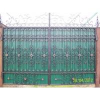 ворота кованые В015