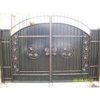 ворота кованые В017