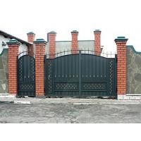 ворота кованые В019