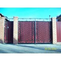 ворота кованые В024
