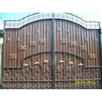 ворота кованые В026