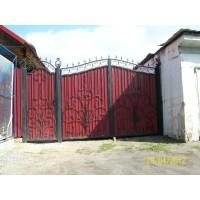 ворота кованые В027