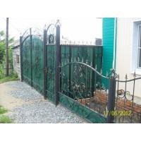 ворота кованые В028