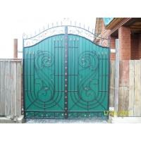 ворота кованые В029