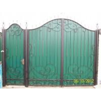 ворота кованые В030