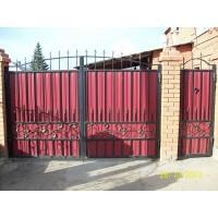 ворота кованые В032