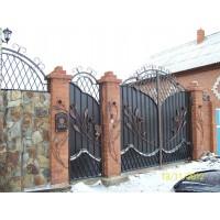 ворота кованые В034