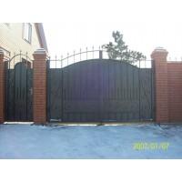 ворота кованые В035