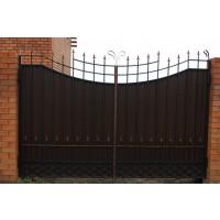 ворота кованые В038