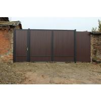 ворота кованые В040