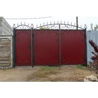 ворота кованые В041