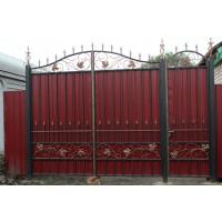 ворота кованые В042