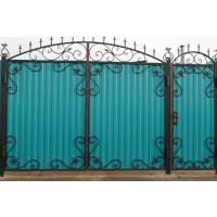 ворота кованые В043