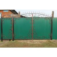 ворота кованые В044