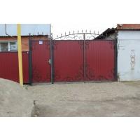 ворота кованые В045