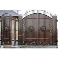 ворота кованые В046