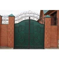 ворота кованые В047