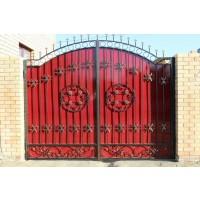 ворота кованые В048