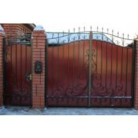 кованые ворота В051