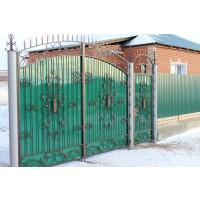 ворота кованые В053