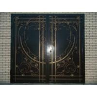 ворота кованые В057