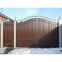 ворота кованые В058