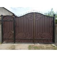ворота кованые В060