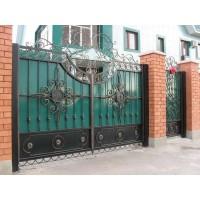 ворота кованые В061