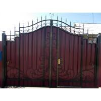 ворота кованые В062