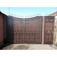 ворота кованые В063