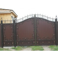 ворота кованые В064