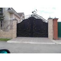 ворота кованые В065