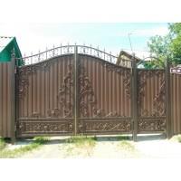ворота кованые В067