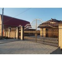 ворота кованые В069