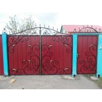 ворота кованые В070