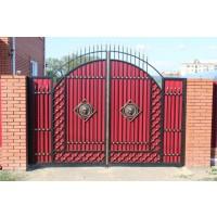 ворота кованые В071