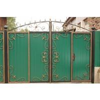 ворота кованые В072
