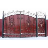 ворота кованые В075