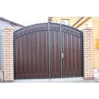 ворота кованые В077
