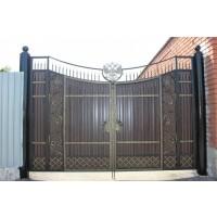 Ворота кованые В079